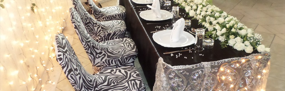 High Table Decor